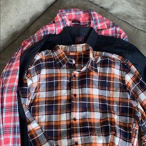 3- UNTUCKit shirts
